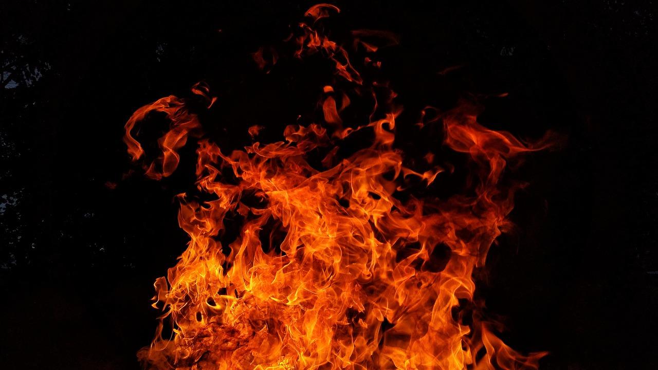Unge satte ild til knallert natten til 2. juledag