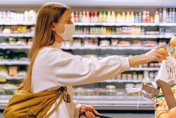 Hvad sker der hvis du glemmer mundbind i supermarkedet