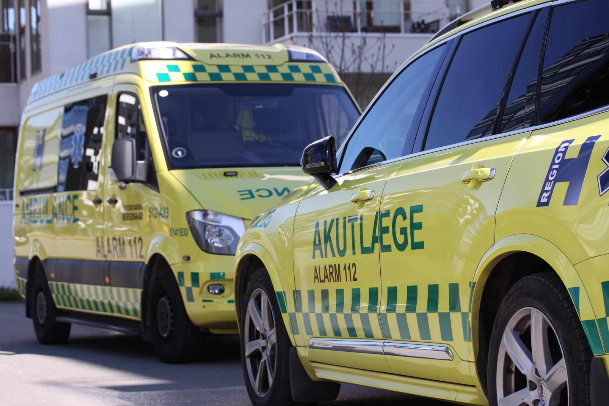 Tragisk ulykke: To mænd afgået ved døden