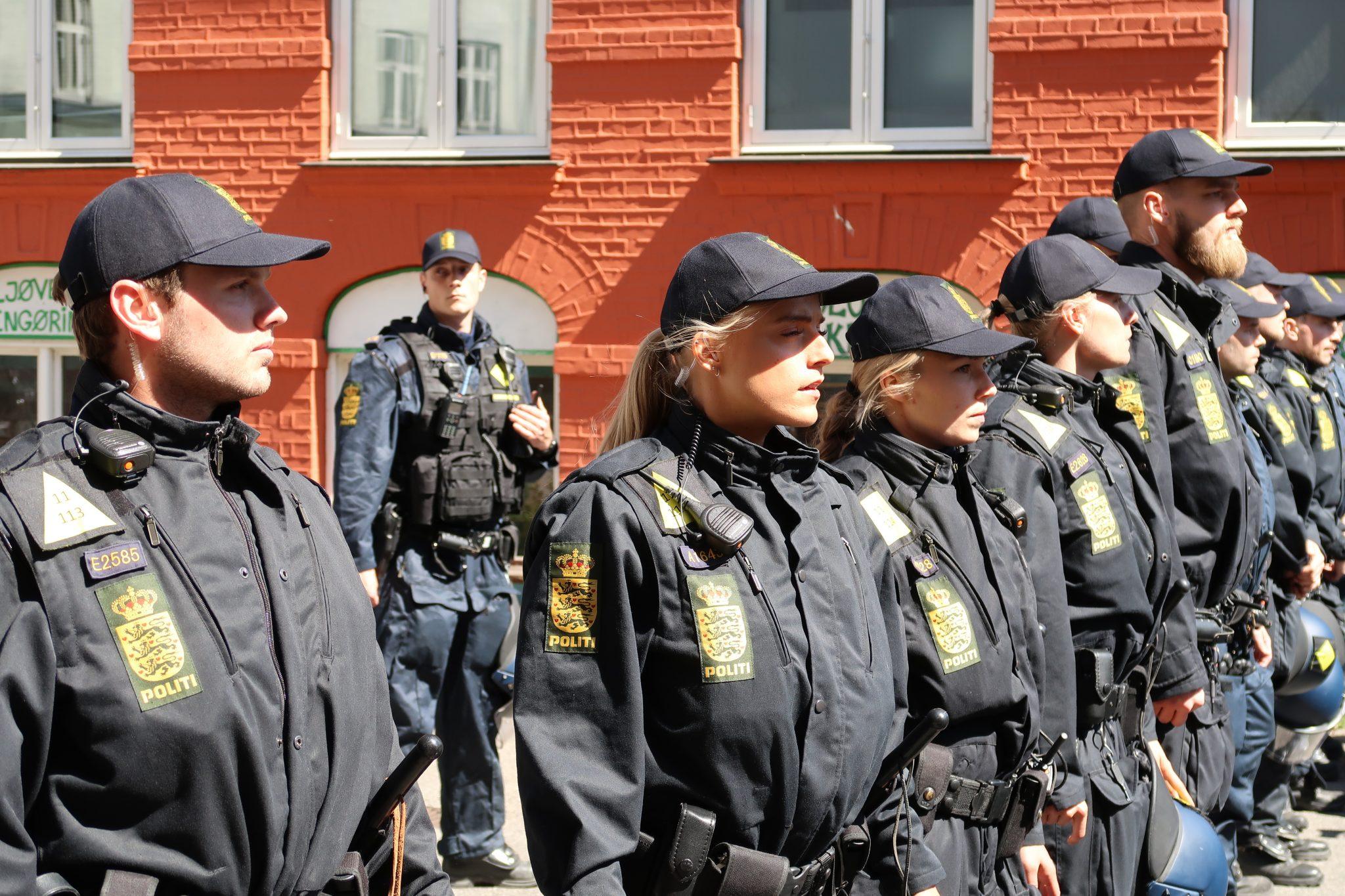 LIGE NU: Stor politiaktion igang