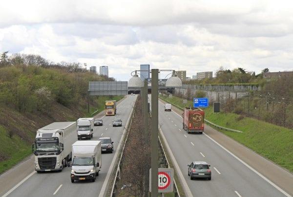LIGE NU: Flere uheld på motorvej skaber kø