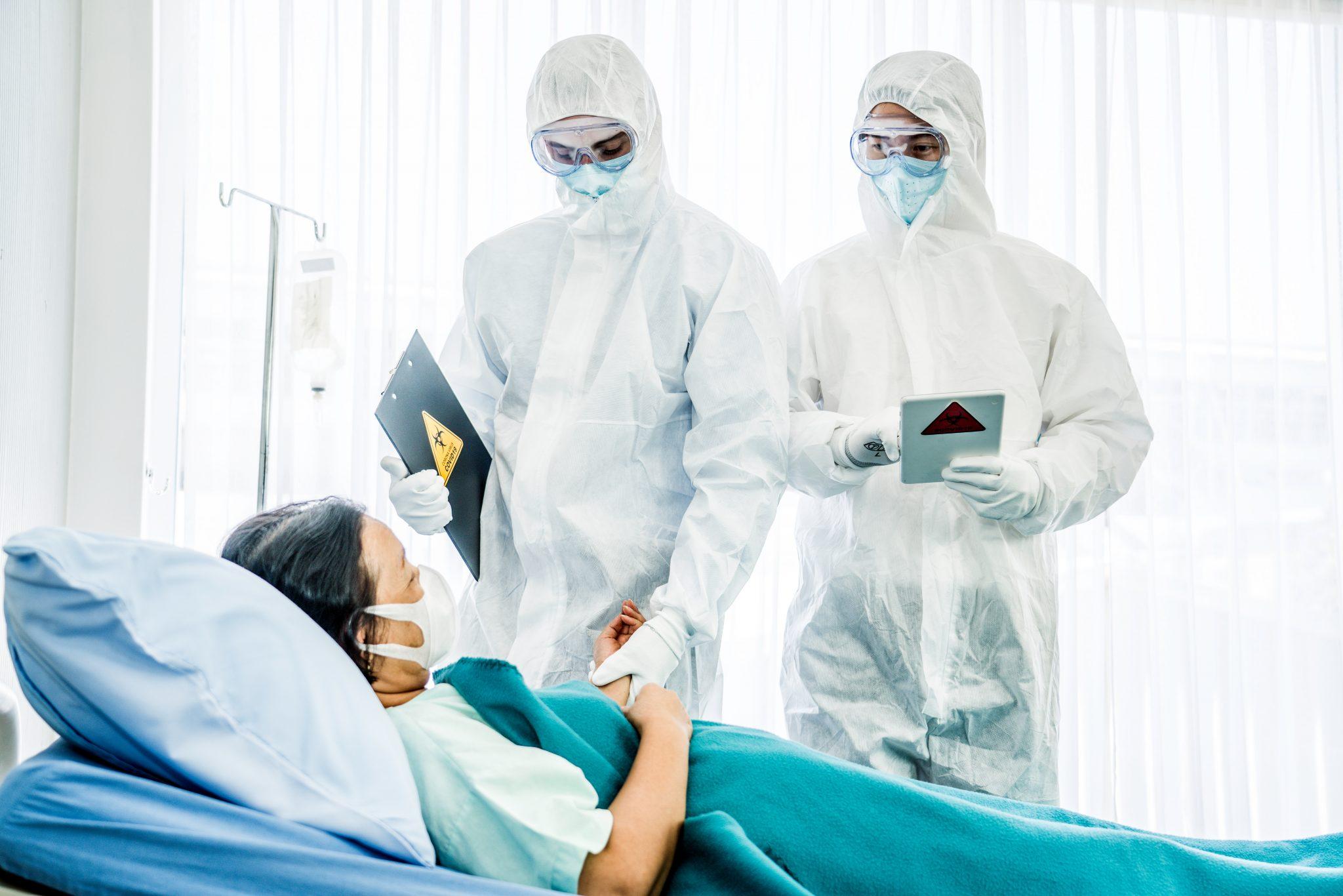 Hospital under stort pres fra indlagte coronapatienter