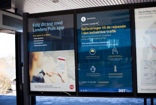 Svenskere sigtet: Nægtede at bruge mundbind i tog i Danmark