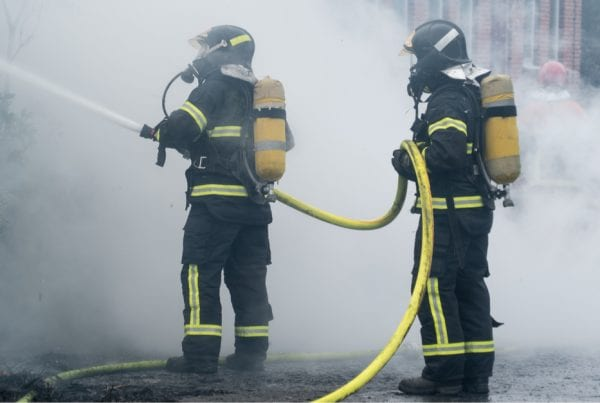 Hus brændt ned til grunden: Der var ingen hjemme