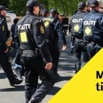LIGE NU: Politi massivt til stede på villavej - Undersøger mistænkeligt forhold