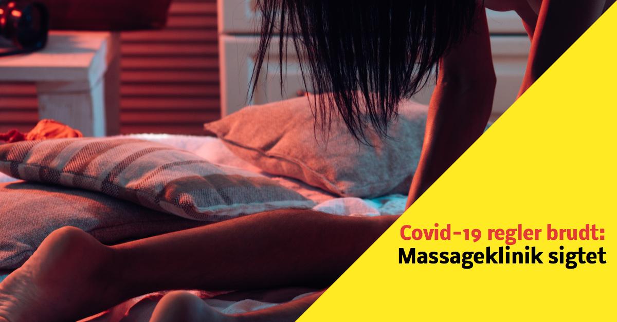 Endnu en massageklinik holdt åben i strid mod corona-regler