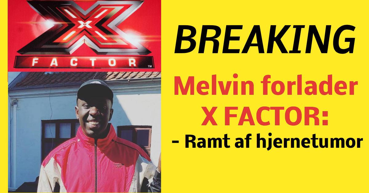 BREAKING: Melvin Kakooza ramt af hjernetumor