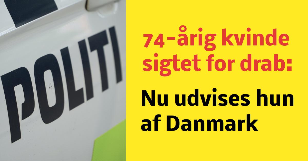 74-årig russisk kvinde sigtet for drab på sin mand - Nu udvises hun af Danmark
