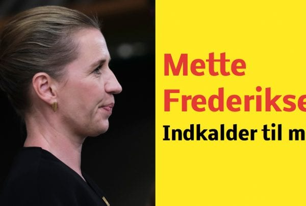 LIGE NU: Mette Frederiksen indkalder til møde