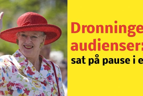 Dronningens audienser: