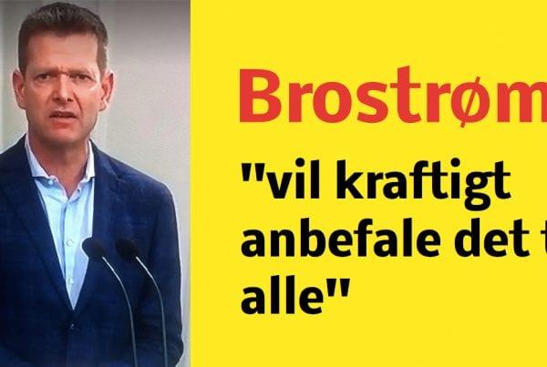 Brostrøm deler billede af sin mor: ''vil kraftigt anbefale det til alle''