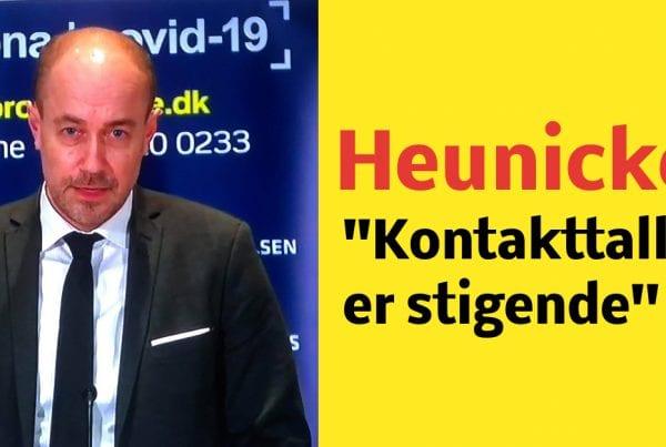 Heunicke: ''Kontakttallet er stigende''