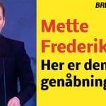 Mette Frederiksen: Her er den nye genåbningsplan