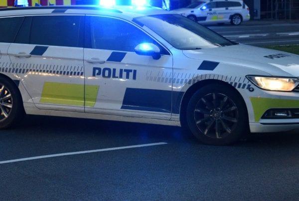 Politi massivt til stede: skud affyret i Odense-bydel
