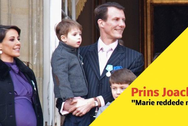 Prins Joachim efter blodprop: ''Marie, reddede mit liv''