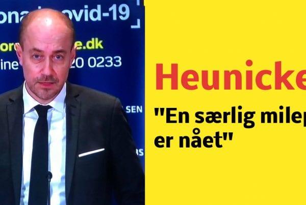Heunicke: ''En særlig milepæl er nået''