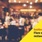 87 smittede efter besøg på restaurant