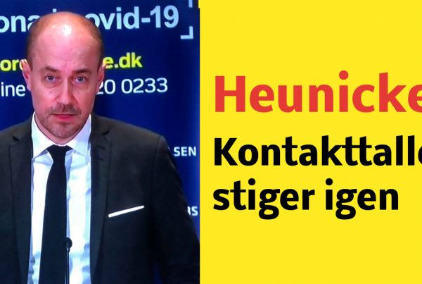 Heunicke: Kontakttallet er igen stigende