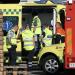 LIGE NU: Voldsom trafikulykke person fløjet til hospital